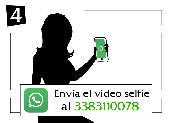 envia el video selfie veneto al
